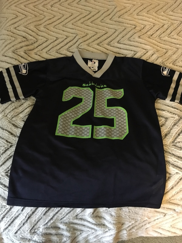 d87f7239c Used Youth 12 14 (L) Seahawks Jersey for sale in Richland - letgo