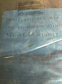Patio furniture cover set new