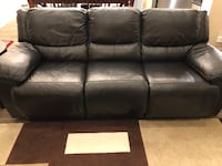 Genuine Top Grain Leather sofa Richmond, 77406