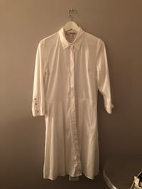 Forever 21 shirt midi dress white  Montréal, H3X 1V4
