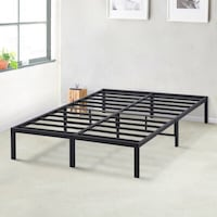"14"" Metal Full/Double Bed Frame"