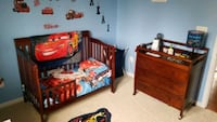 Baby changing station and Crib/Bed Upper Marlboro, 20772