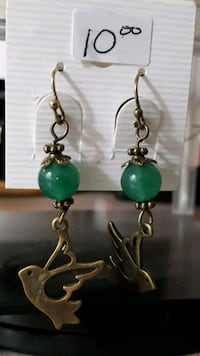 New semi precious stone Hand crafted earrings  Hamilton, L9A 5J2