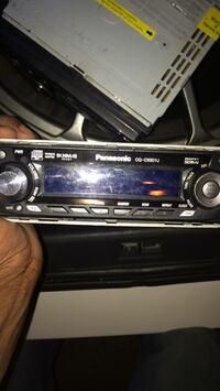 black Pioneer 1-DIN car stereo head unit Toronto, M6N 2E2