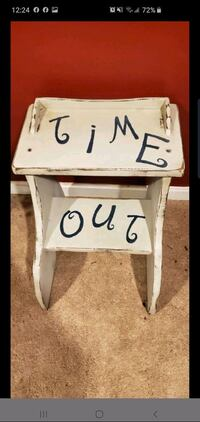 Adorable Handpainted Time Out Chair