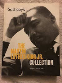 Martin Luther King Jr Sotheby's auction catalog  Bloomfield, 06002