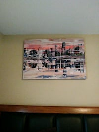 brown wooden framed painting of people Dallas, 75204