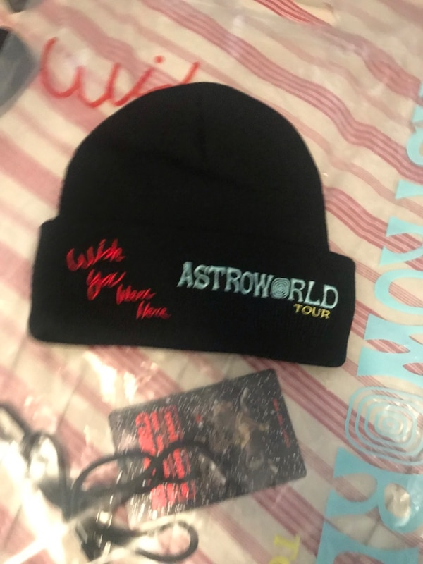 08d598791cc2a Used Astro world tour beanie for sale in New York - letgo