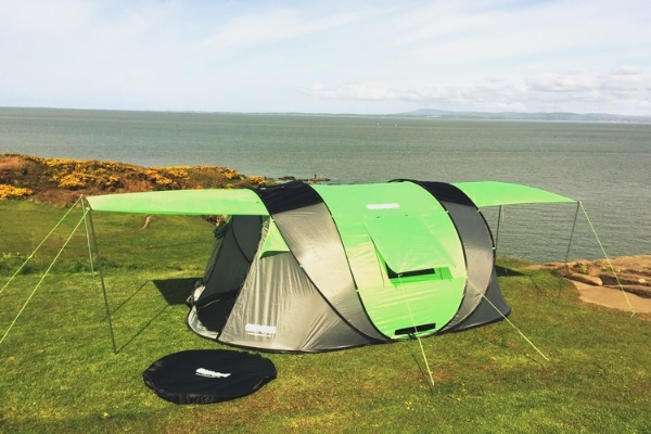 Cinch! 4 Person Pop Up Camping Tent
