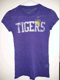 Brand New Purple Xs Nike LSU TIGERS shirt Pensacola, 32526