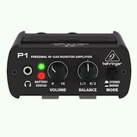 Powerplay P1 Personal In-Ear Monitor Amplifier  Melhus, 7224
