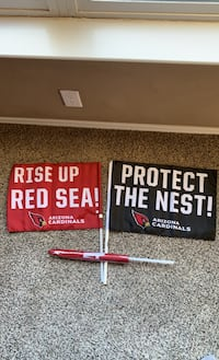 Arizona Cardinals Car/Fan Flags