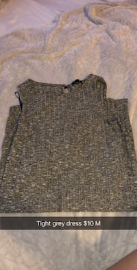 gray and black scoop neck sweater Calgary, T2X 2R4