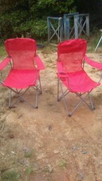 red and black camping chairs 379 mi