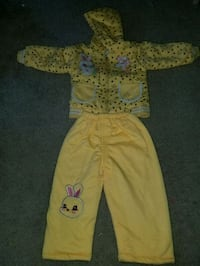 baby's yellow footie Silver Spring, 20903