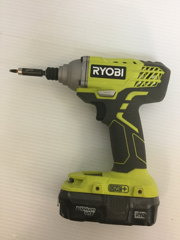 """362413ca887 Used Ryobi 18v 1 4"""" impact driver P235 with battery for sale in Deerfield  Beach - letgo"""