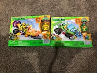 Ninja turtle mega blocks sets Halethorpe, 21227