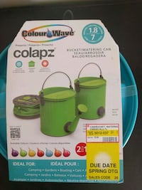 Collapsible watering can