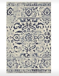 Large blue and cream rug 8x10 Tempe, 85281