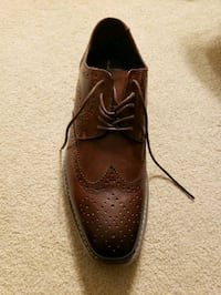 Black and Brown brand leather dress shoes size 12M