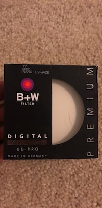 B + W 77mm UV filter (XS-PRO) Gaithersburg, 20877