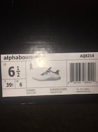 white and black Air Jordan shoe box 49 km