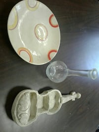 Plate violin n vase from italy St. Louis, 63125