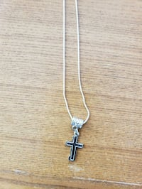925 chain cross necklace