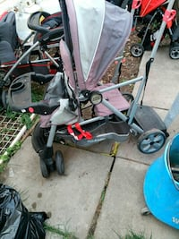 baby's gray, pink, and black stroller Calgary, T3J