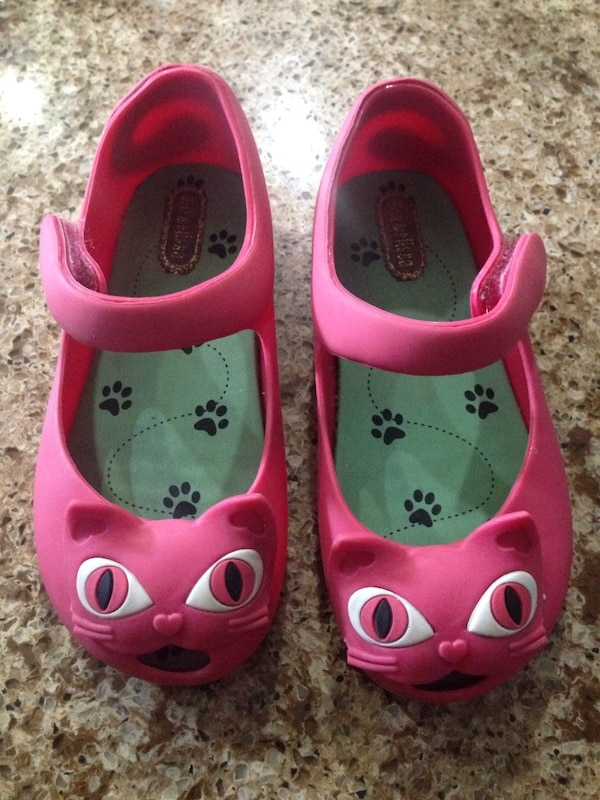 7b165670ce2b Used Mini Melissa Ultra Cat Mary Jane Pink Kitty Shoes size 9 for sale in  Miami - letgo