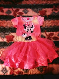 Little girl pink Disney Minnie Mouse dress size 6T Statesville, 28625