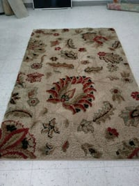 white, red, and green floral area rug Ocala, 34475