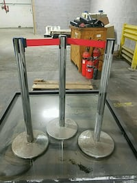 two gray metal bar stools Rochester, 14606