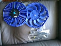 Electric Cooling Radiator Fan With Fan Mounting Ki