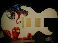 "20"" replica guitar with spode an and venom art Dearborn, 48126"