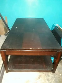 rectangular brown wooden table with chairs Austin, 78750