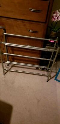 Metal frame shoe rack Ormond Beach