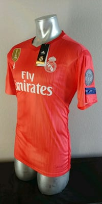 REAL MADRID HOME AWAY CHAMPIONS XL / L / M SIZE Addison, 75001