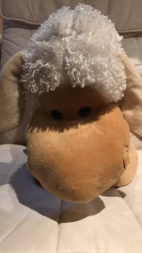 White high end plush lamb  Mississauga, L5B