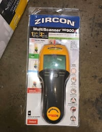 Zircon multiscanner hd900c stud finder