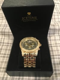 IceTime gold diamond watch Pittsburgh, 15212