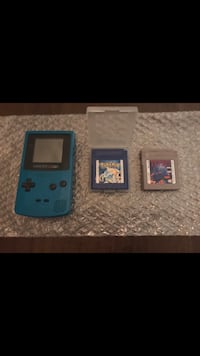 Teal Gameboy Color Bundle! Toronto, M9A 0B4