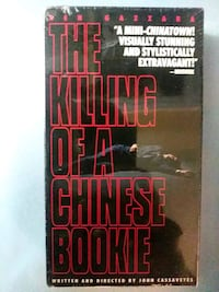 The Killing of a Chinease Bookie vhs Baltimore