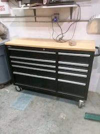 black and brown tool chest Riverside, 92504