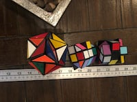 Vintage ALEXANDER'S STAR PUZZLE - ITC 1982 Game Brainteaser Ideal Geometric. The hexagon ones are free with the star due to couple stickers missing. The star is in perfect condition though. Courtice, L1E 0H5