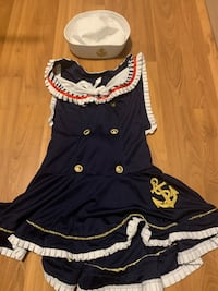Womens sailor costume medium Edmonton, T6L 3X4