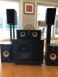 B&W complete home theater speakers  Coral Gables, 33143