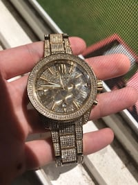 Michael Kors Iced Out Watch- 70% OFF- Comes in Box with Receipt Towson, 21286
