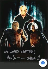 Friday the 13th signed photo Milwaukee, 53204