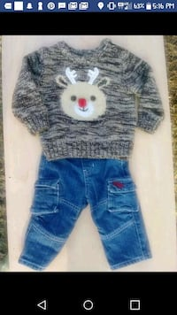 toddler's blue denim jeans Alabaster, 35007